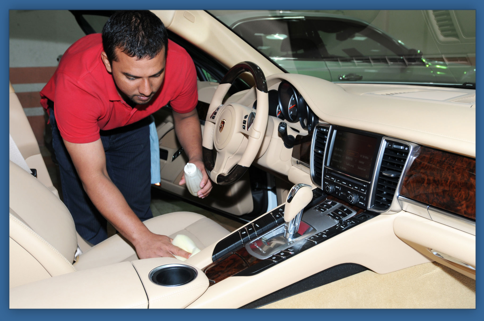 Car upholstery cleaning ib carpet cleaning for Interior car cleaning services